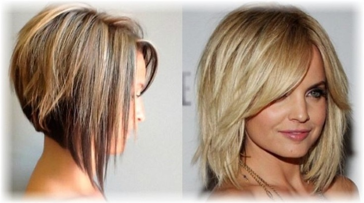 Стрижка укороченный каскад на короткие волосы