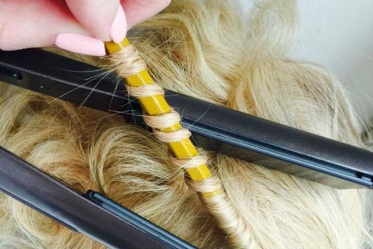 Как использовать щипцы для завивки волос?