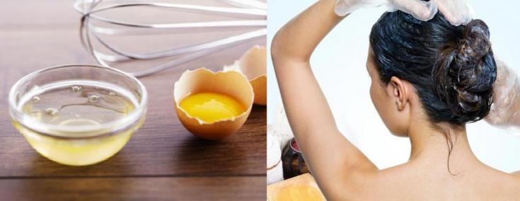 Лучшие маски для волос с яйцом