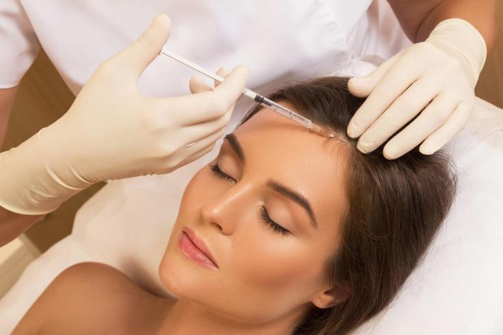 Озонотерапия волосистой части головы