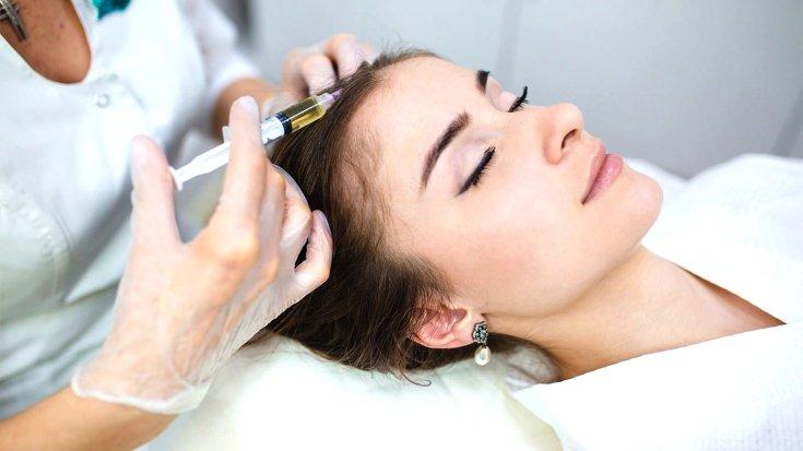 Плазмолифтинг при выпадении волос