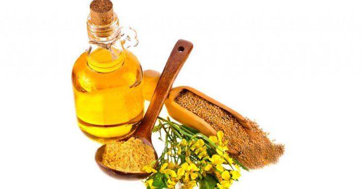 Горчичное масло для волос