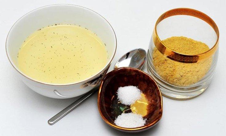 Масло горчицы для волос