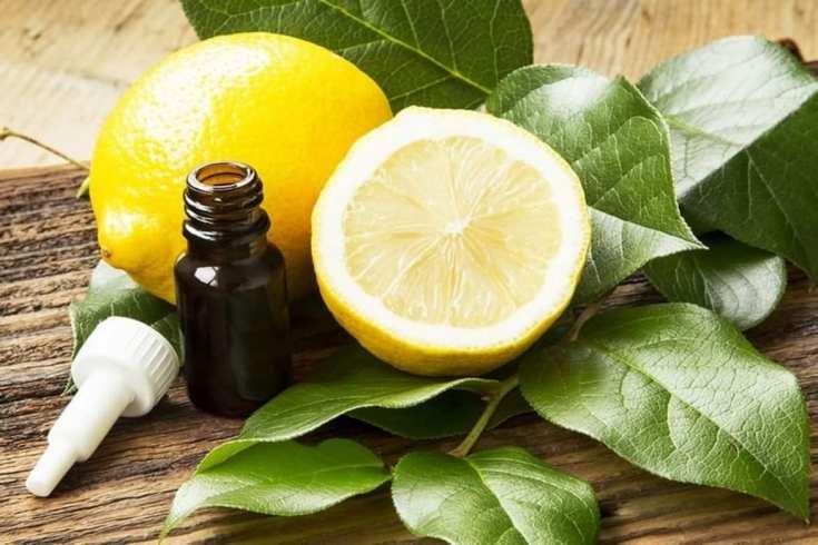 Масло лимона для волос
