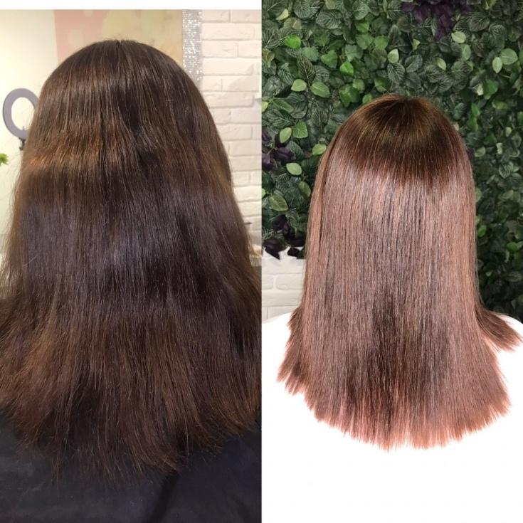 Реконструкция волос