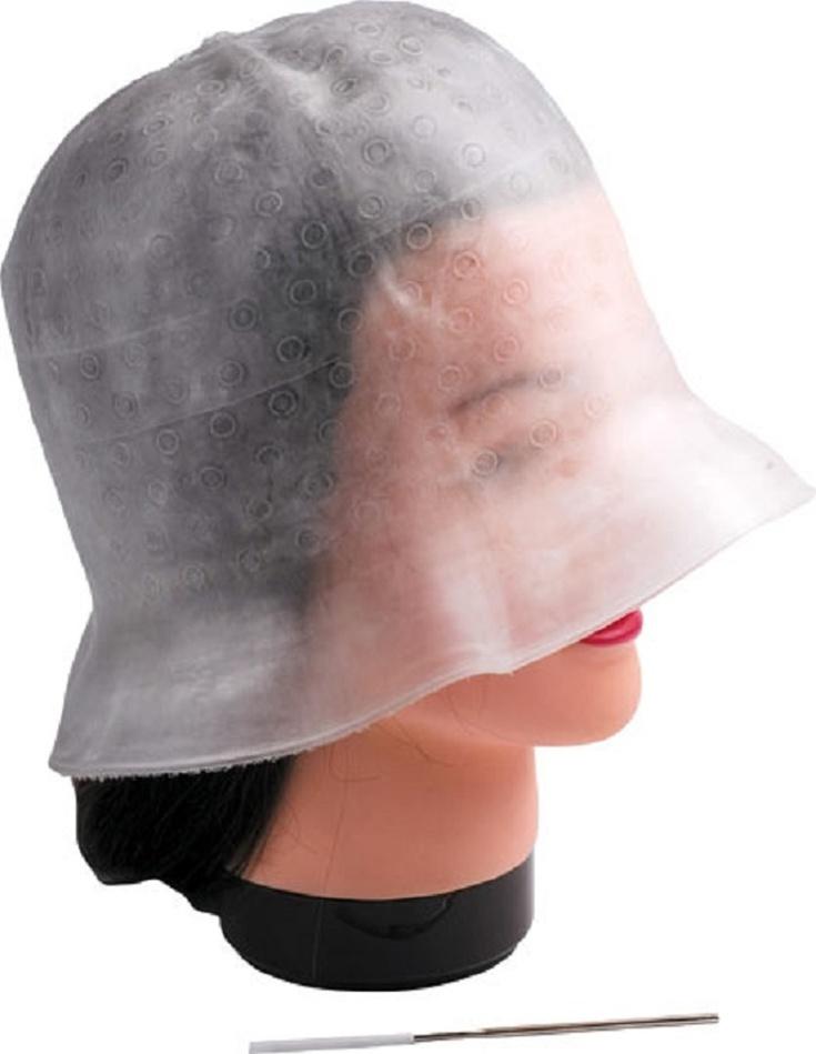 Как правильно делать мелирование через шапочку