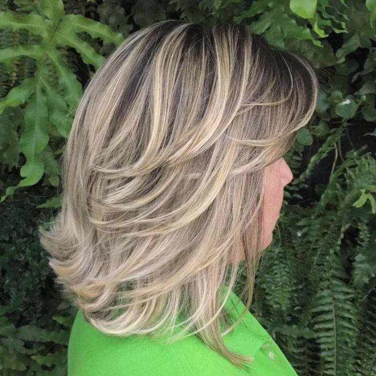 Мелирование на стрижку каскад – лучшие техники для прямых и кудрявых волос