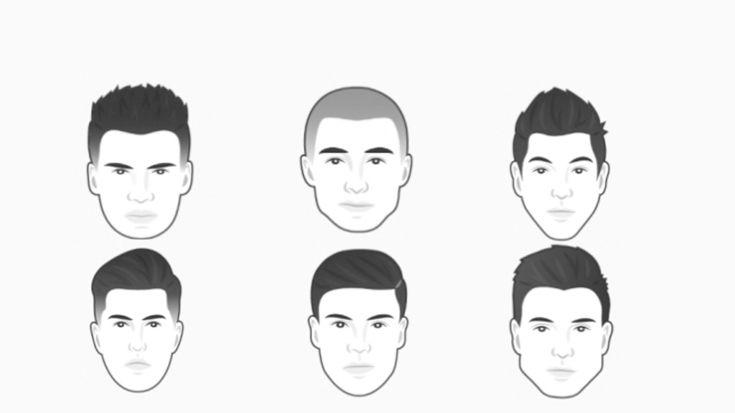 Как подобрать стрижку мужчине и скорректировать форму лица