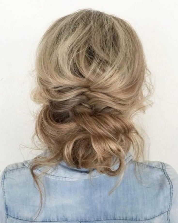 (65 фото) Высокие прически на тонкие волосы
