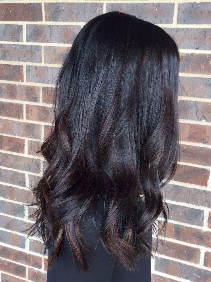 (+63 фото) Цвет волос черный шоколад