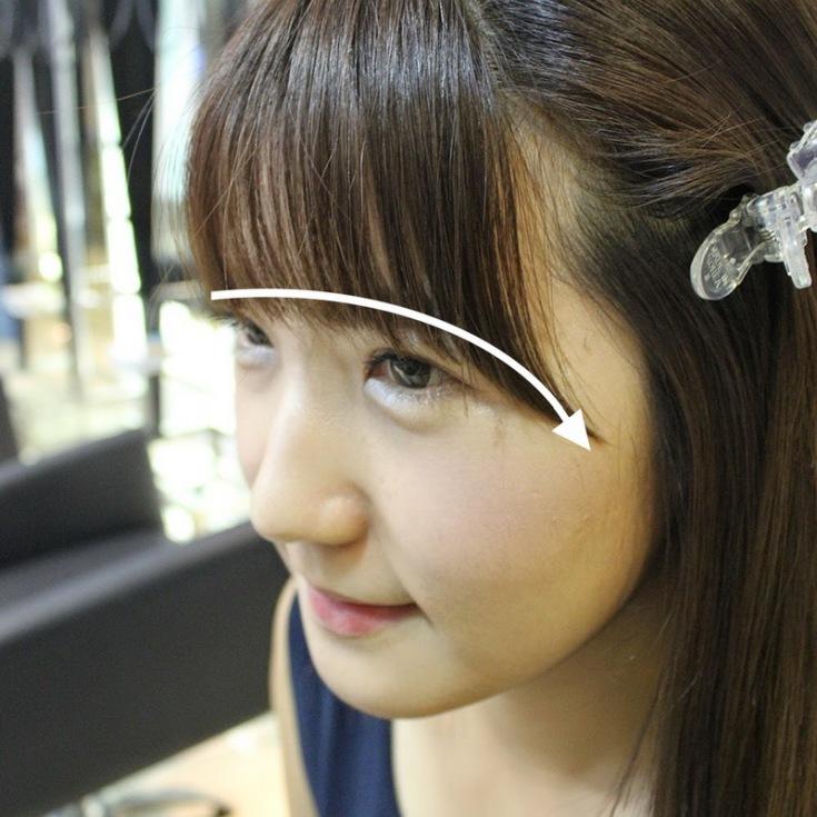 (+65 фото) Корейская челка у русских девушек