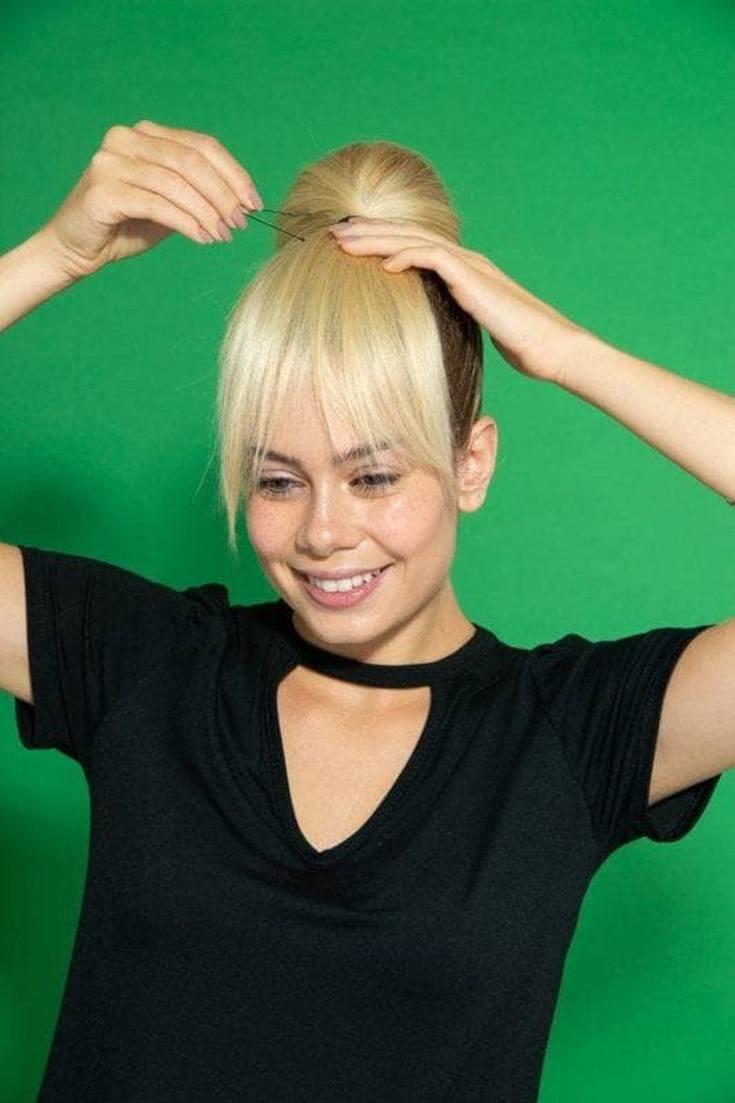 (+64 фото) Стрижки с челкой на волнистые волосы