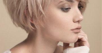 боб каре на редкие тонкие волосы