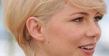 стрижка пикси для блондинок