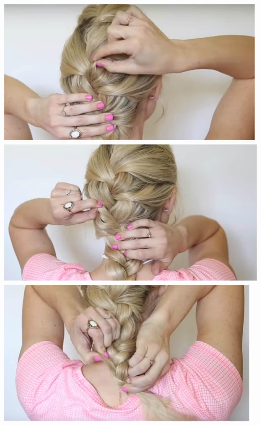 Воздушная французская коса