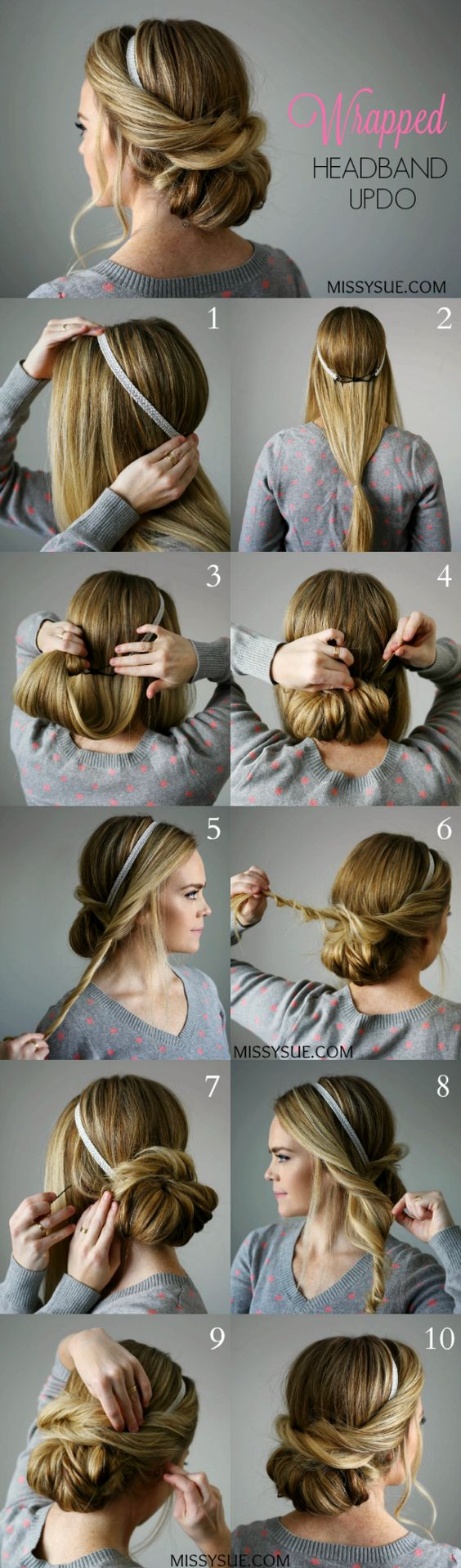 How to make a hair with a rim