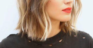 шатуш на русые волосы