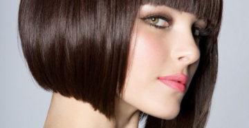 боб каре на короткие и средние волосы