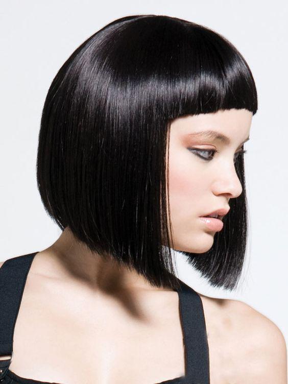 Стрижка Каскад на средние волосы (женские средние)