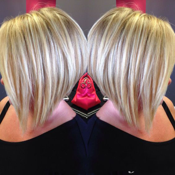 2019 Стрижка боб каре на короткие волосы