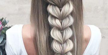 плетение французкой косы
