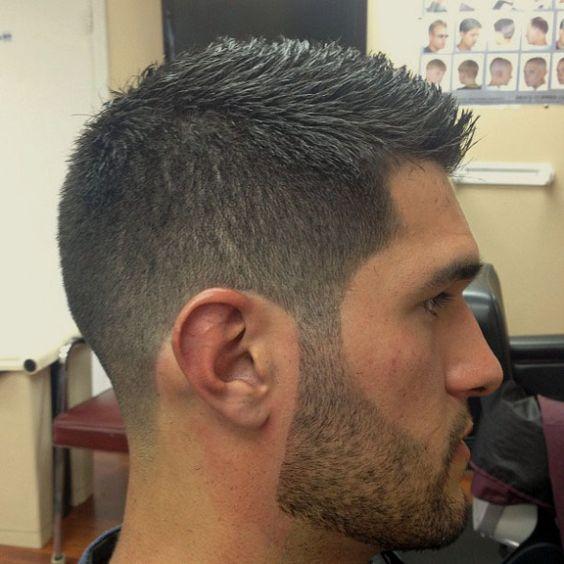 Taper haircut with long hair