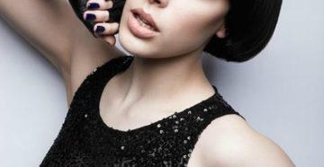 женская стрижка шапочка на короткие волосы