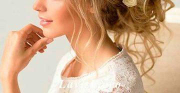 свадебная прическа с шиньоном своими руками