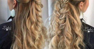 плетение объёмных кос