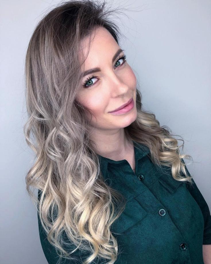 Светлый цвет волос для зеленых глаз