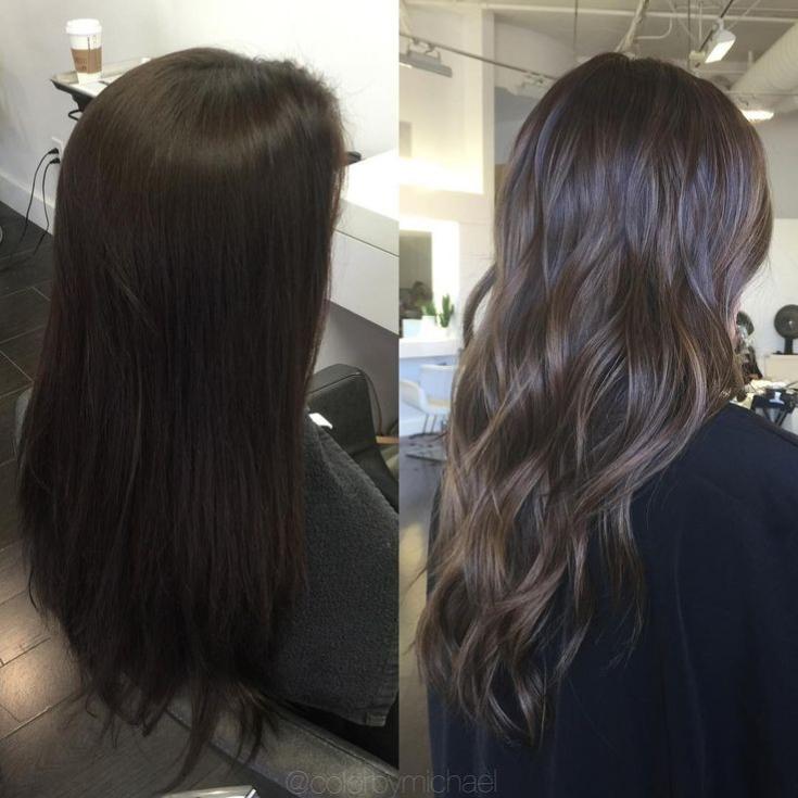 Темный карамельный цвет волос фото что узнать