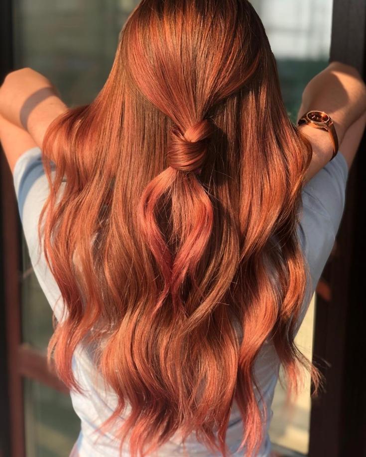 картинки краски для волос рыжего цвета как природа