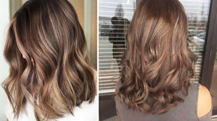 Молочный цвет волос с разными оттенками