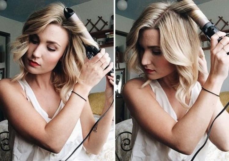 Локоны на короткие волосы