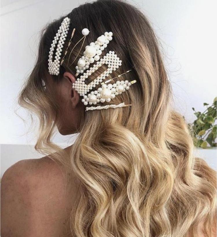 Заколка для волос прически с заколками