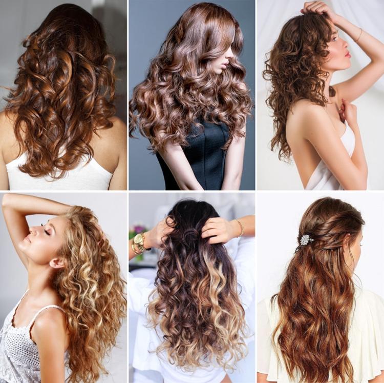 Современные виды химической завивки волос
