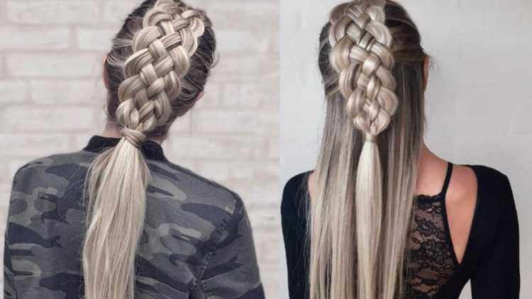 Вывернутая коса как плести пошаговая инструкция