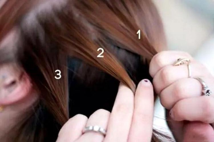 Как заплести две косички по бокам самой себе