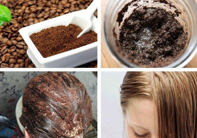 маска для волос кофе и сахар