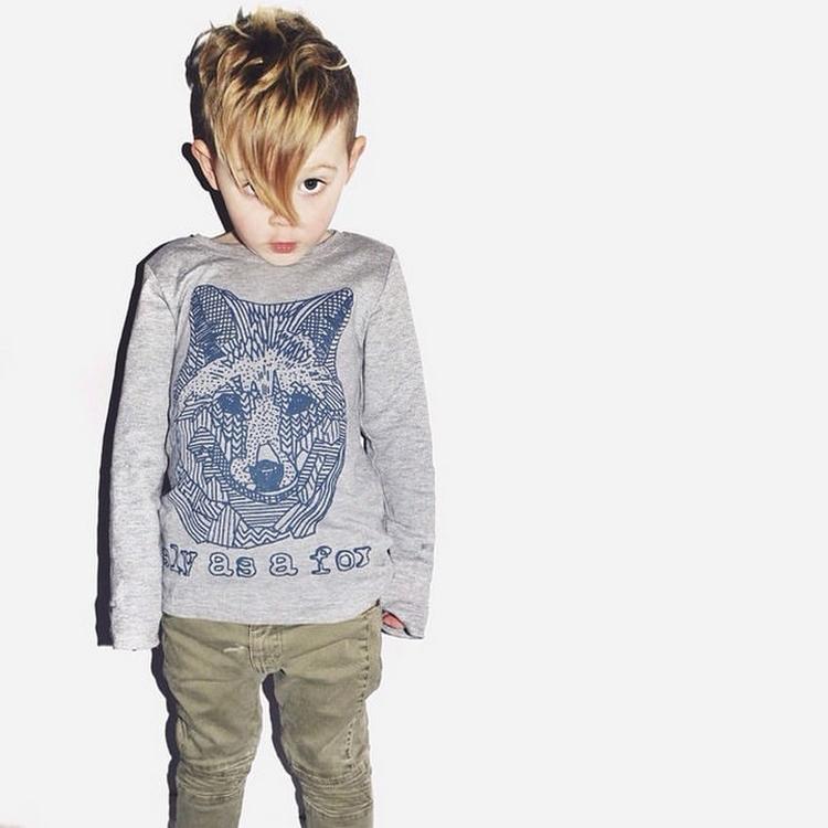 Прически для мальчиков 10 лет модные