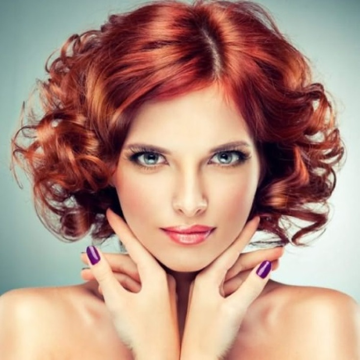 Химические завивки для коротких волос