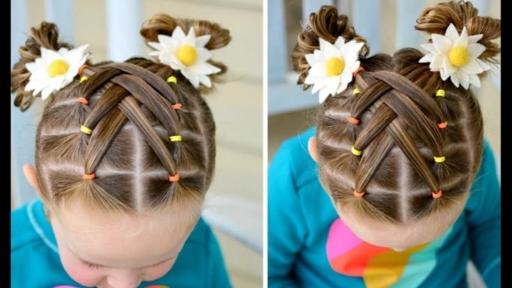 Детские прически на короткие волосы на каждый день в школу и в садик